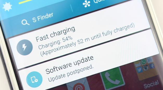 Fast Charging Galaxy S7 edge